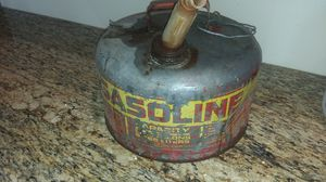 Vintage Sears Craftsman Metal Gas Can for Sale in Nuevo Laredo, MX