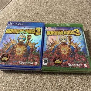Borderlands 3 PS4 & Xbox One for Sale in Fresno, CA