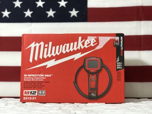 MILWAUKEE M12 CORDLESS 360 INSPECTION CAMERA WITH BATTERY AND CHARGER for Sale in San Bernardino, CA