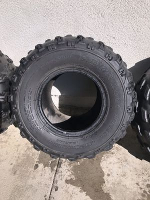 quad tires dune loop set of four front and back for Sale in Los Angeles, CA