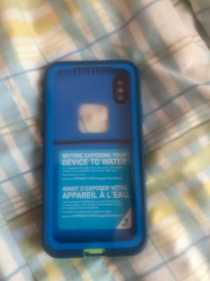 Lifeproof case iPhone X for Sale in Lakewood Township, NJ