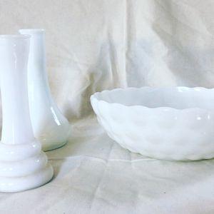 Set Of Vintage Milk Glass for Sale in Sea Girt, NJ