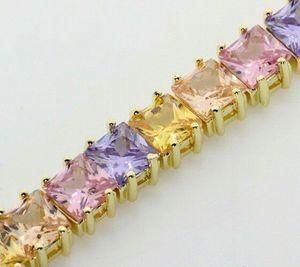 14.00 ctw citrine tazanite saphire bracelet $399 for Sale in Severn, MD