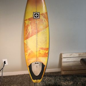 """6' 4"""" Surfboard - Thruster - Squash Tail for Sale in Houston, TX"""
