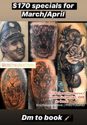Tattoo specials for Sale in Rancho Cucamonga, CA