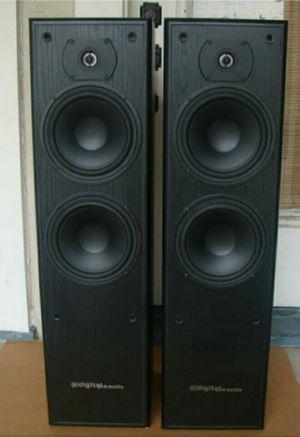 Pro audio floor standing loudspeakers 250watts for Sale in Montclair, CA
