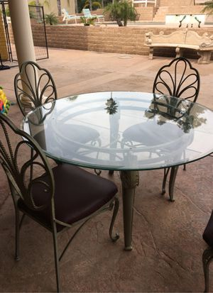 Champagne glass top Dinette table for Sale in Alta Loma, CA