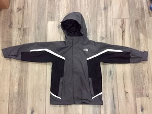 Unisex Northface Hyvent Hooded Jacket (Kids Size 7/8) - Excellent Condition! for Sale in Buford, GA