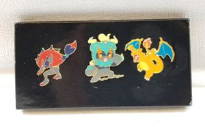 ($15) OFFICAL POKEMON PINS TOTAL OF THREE for Sale in Stockton, CA