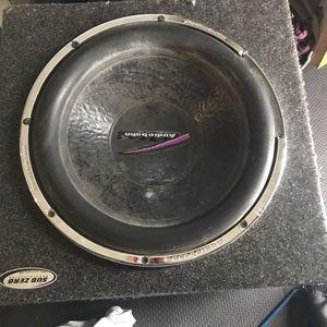 """15"""" Audio Bahn speaker for Sale in Clackamas, OR"""