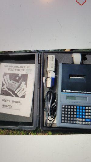 Brady label marker plus printer for Sale in Swedesboro, NJ