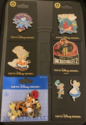 Exclusive Tokyo Disney resort Disney pins for Sale in Los Angeles, CA