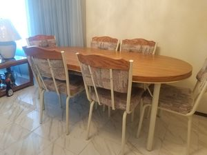 Dining Room Table with 6 Chairs for Sale in Mesa, AZ