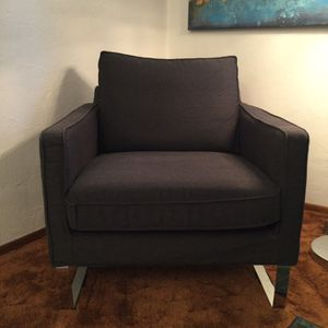 Dark Grey Chair for Sale in Portland, OR