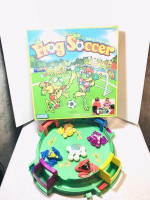 Vintage 1992 Parker Bros. Frog Soccer Board Game for Sale in Pawtucket, RI
