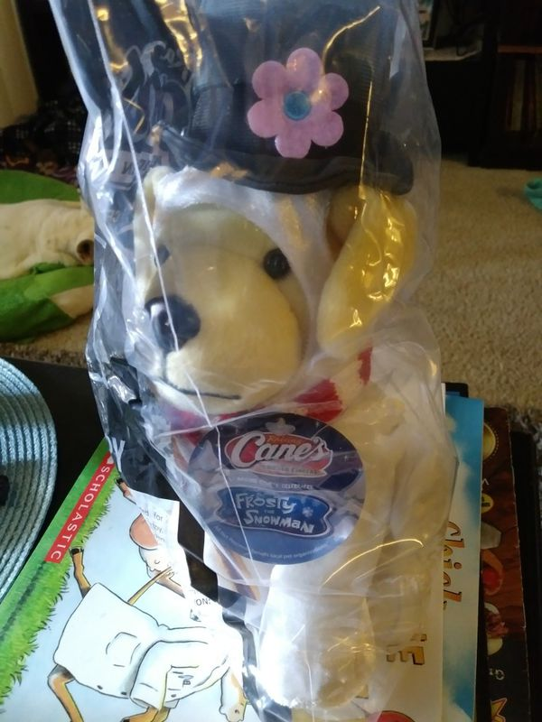 Raising Canes Frosty Plush Puppy