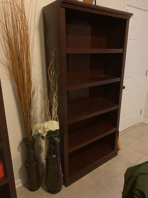 STURDY BOOKSHELVES $90 for both for Sale in Smoke Rise, GA