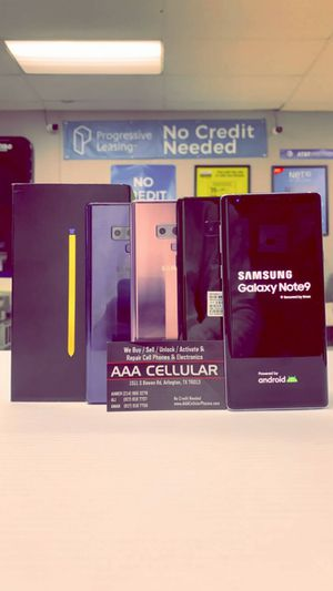 Samsung Galaxy Note 9 128gb Factory Unlocked - Like New! (Cash Deal) for Sale in Arlington, TX