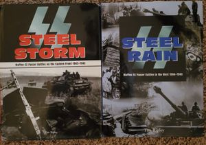 WWII Steel Storm and Steel Rain Books for Sale in Cambridge Springs, PA