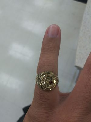 Mens gold ring for Sale in TEMPLE TERR, FL