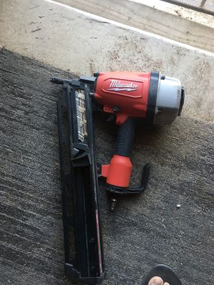 Nail Gun Milwaukee only use 2 or 3 times for Sale in Fresno, CA