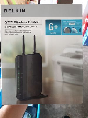 Belkin Wireless Router for Sale in Sarasota, FL