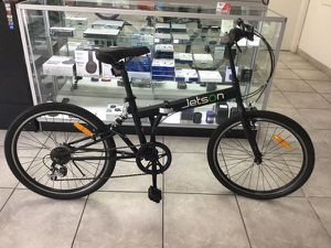 "Jetson Bike Folding Bicycle Bicicleta Outdoor 24"" Wheel 7 Speed Rear Hydraulic Shock JFOLD24-BL for Sale in Miami, FL"