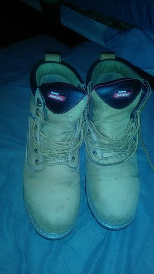 Dickies steel toe work boots size 10 for Sale in Pompano Beach, FL