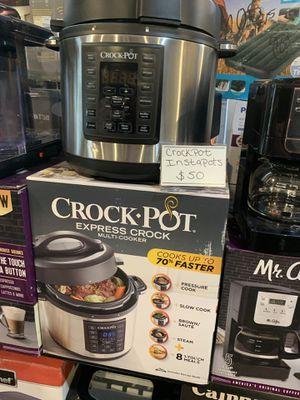 Crock pot pressure cooker for Sale in Modesto, CA