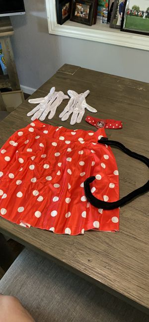 Minnie Mouse costume accessories for Sale in Lakeland, FL
