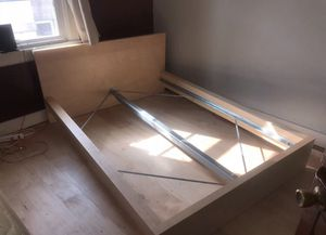 Queen size bed frame from ikea asking $150, frame is like new for Sale in Spring Valley, CA