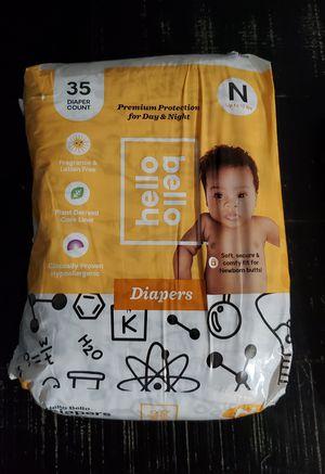 Baby Infant Hello Bello Newborn Diapers for Sale in El Mirage, AZ