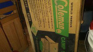 Coleman camp stove for Sale in Liberty Lake, WA