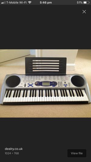 Casio LK-43 with stand for Sale in Carlsbad, CA