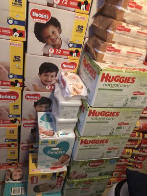 Huggies diapers all sizes ! for Sale in TEMPLE TERR, FL