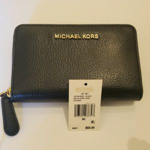 Micheal Kors Black Wallet, Original Price $68. for Sale in Summerville, SC
