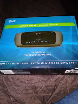 Linksys Wireless Router for Sale in Denver, CO