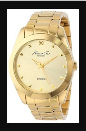 Kenneth Cole Diamond Collection Gold Watch for Sale in Overgaard, AZ