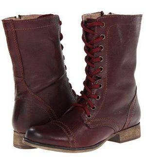 Steve Madden Troopa Combat Boots Size: Wmns 8 for Sale in West Palm Beach, FL