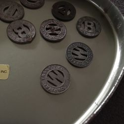 Vintage Transit Tokens for Sale in Woodlawn,  MD