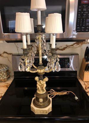 ANTIQUE ANGEL/ CHERUB LAMP for Sale in Boca Raton, FL