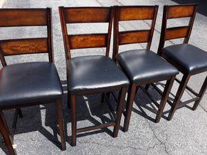 4 bar stool chairs for Sale in Marietta, GA