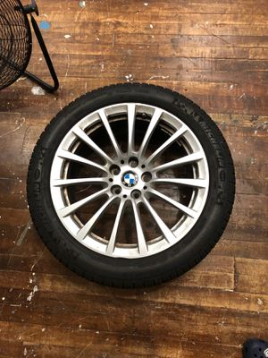 BMW 5 Series Snow tires and rims !!!! for Sale in Queens, NY