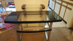 Glass computer desk for Sale in Frederick, MD