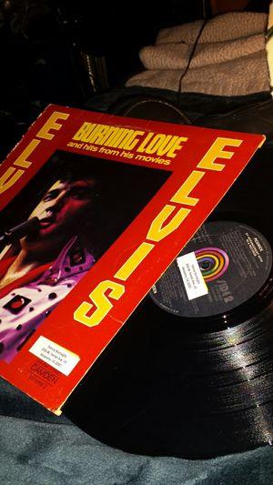 ELVIS PRESLEY BURNING LOVE RARE LP RECORD vinyl 1972 USA VG+ for Sale in Fairfax, VA