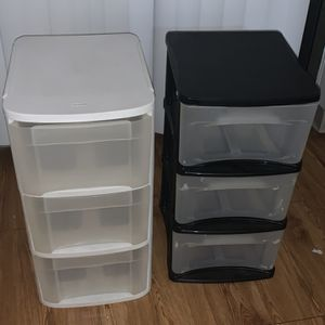 plastic drawers for Sale in Taunton, MA