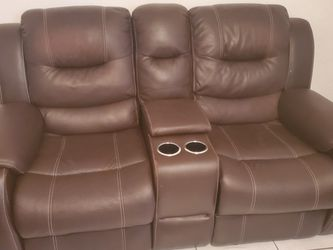 Living Room Furniture 2 Pcs With 4 Reclining Chairs for Sale in Miami,  FL