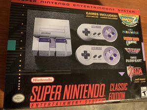 Super Nintendo Classic Edition for Sale in Los Angeles, CA