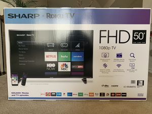 "Sharp 50"" 1080p Smart TV for Sale in Denton, TX"