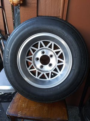 Rims & Tires For smaller chevy tahoe or truck for Sale in Auburn, WA